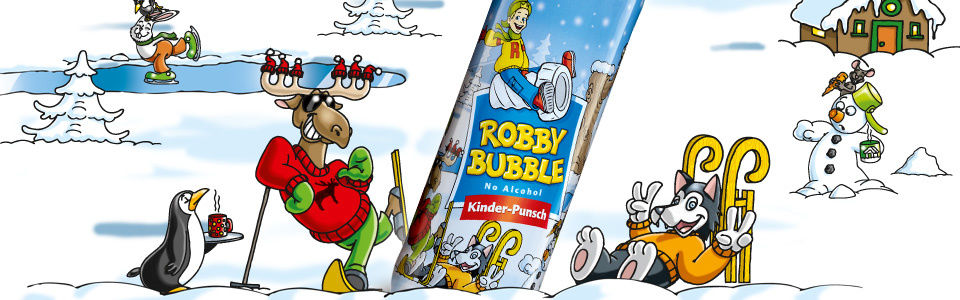 Neu! Robby Bubble Kinder-Punsch